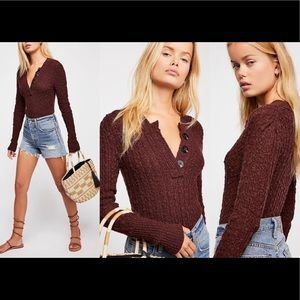 NWT Free People All My Friends Sweater Sz Small